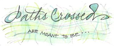 Paths Crossed Bookmark