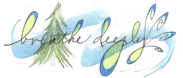 Breathe Deeply Bookmark
