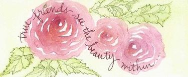 Friends See Beauty Bookmark