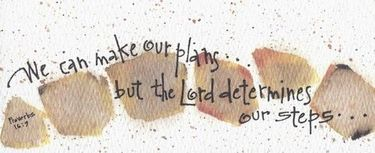 Lord Determines our Steps Bookmark