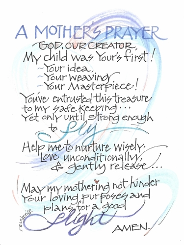 A Mother's Prayer Print