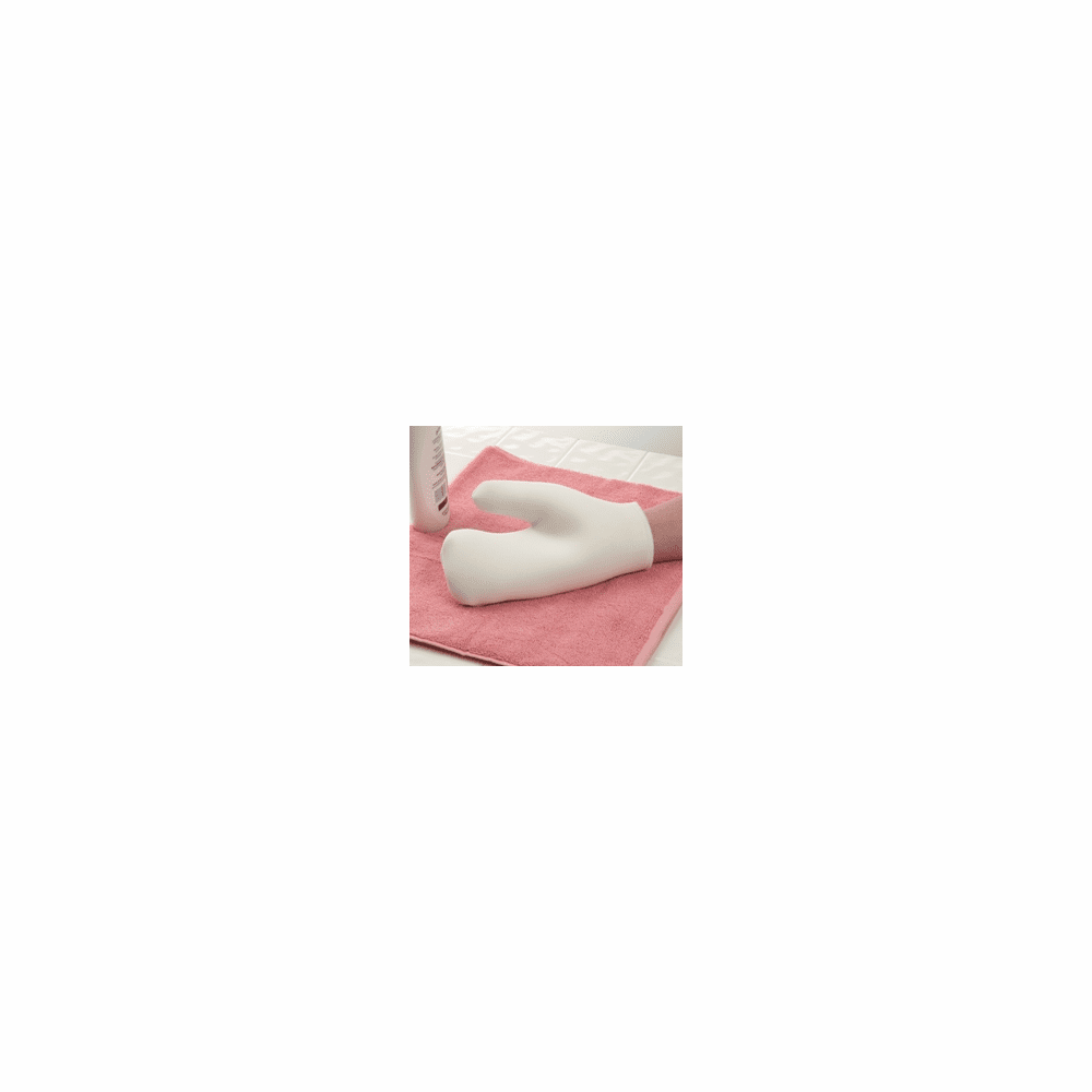 """Ableware Velvety Soft Lotion and Wash Mitt, 11"""" Length, 8"""" Width, 0.75"""" Thick"""