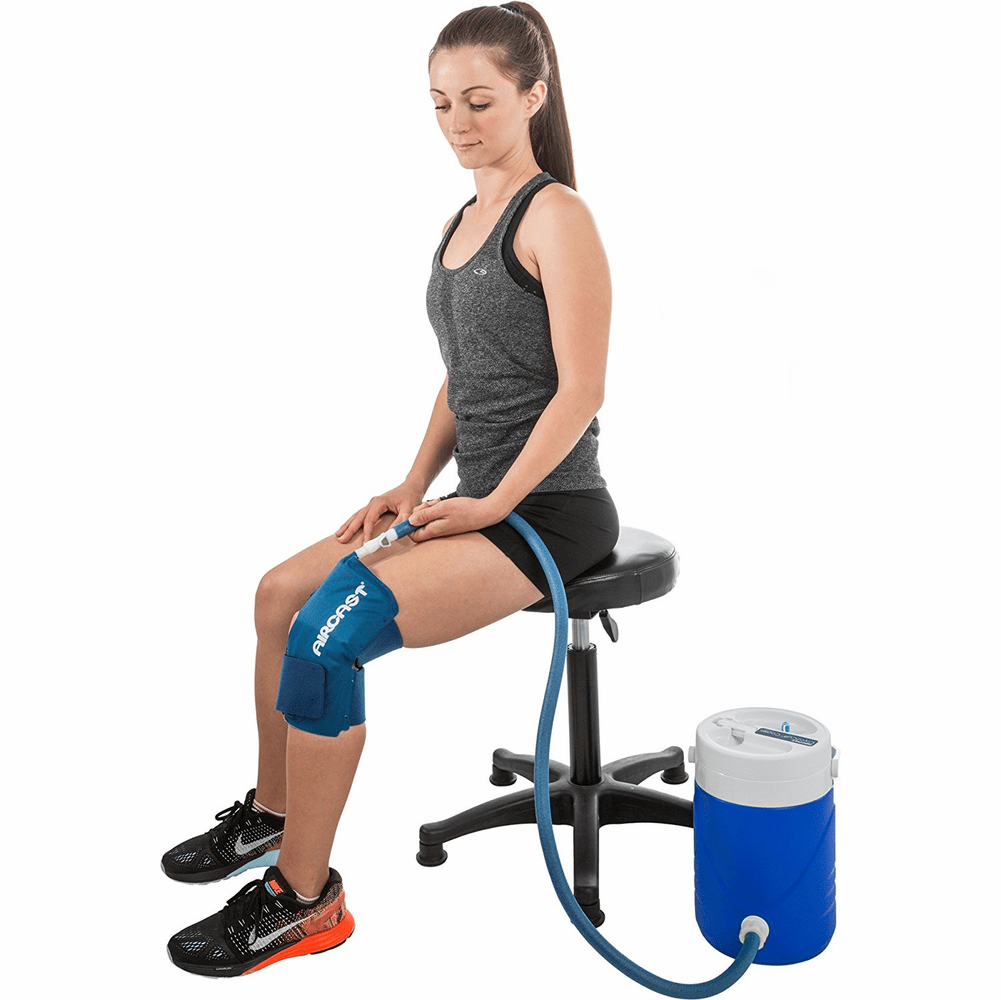 Aircast Knee Cryo/Cuff w/ Cooler - Non- Motorized