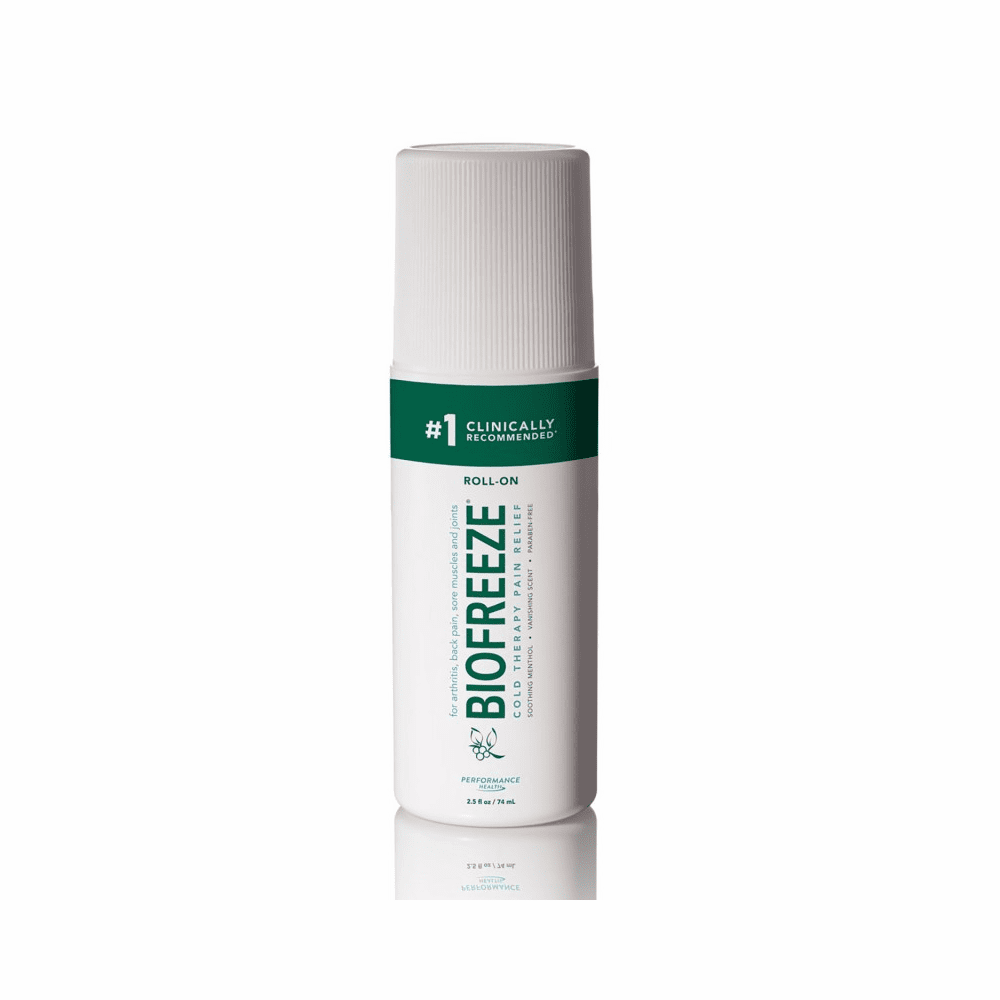 Biofreeze with ILEX Pain Relieving Gel - 3 Oz. Roll-On Applicator
