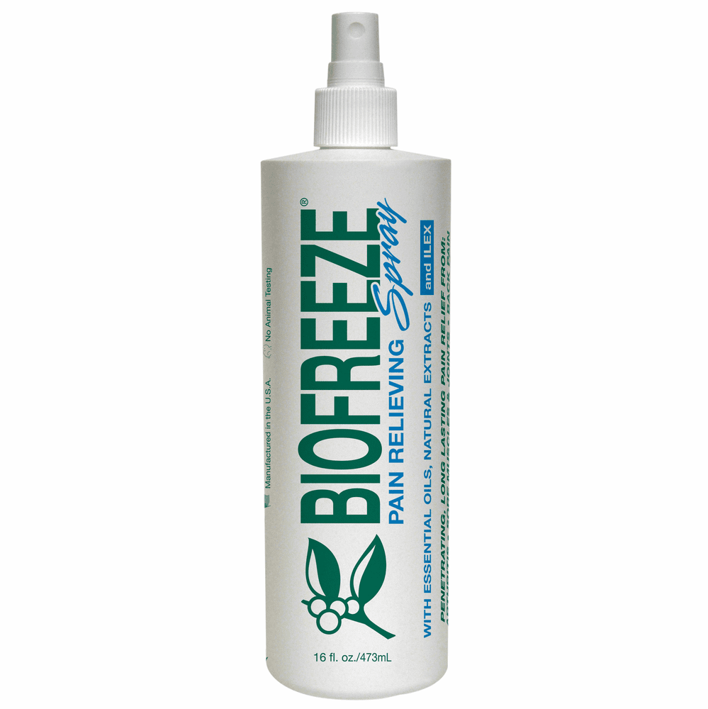 BIOFREEZE with ILEX Pain Relieving Gel Cryospray - 16 Oz. Spray