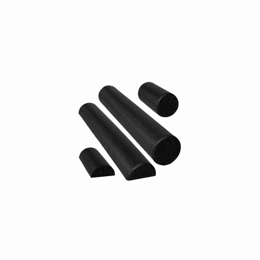 Black High-Density Extra Durable Foam Rollers