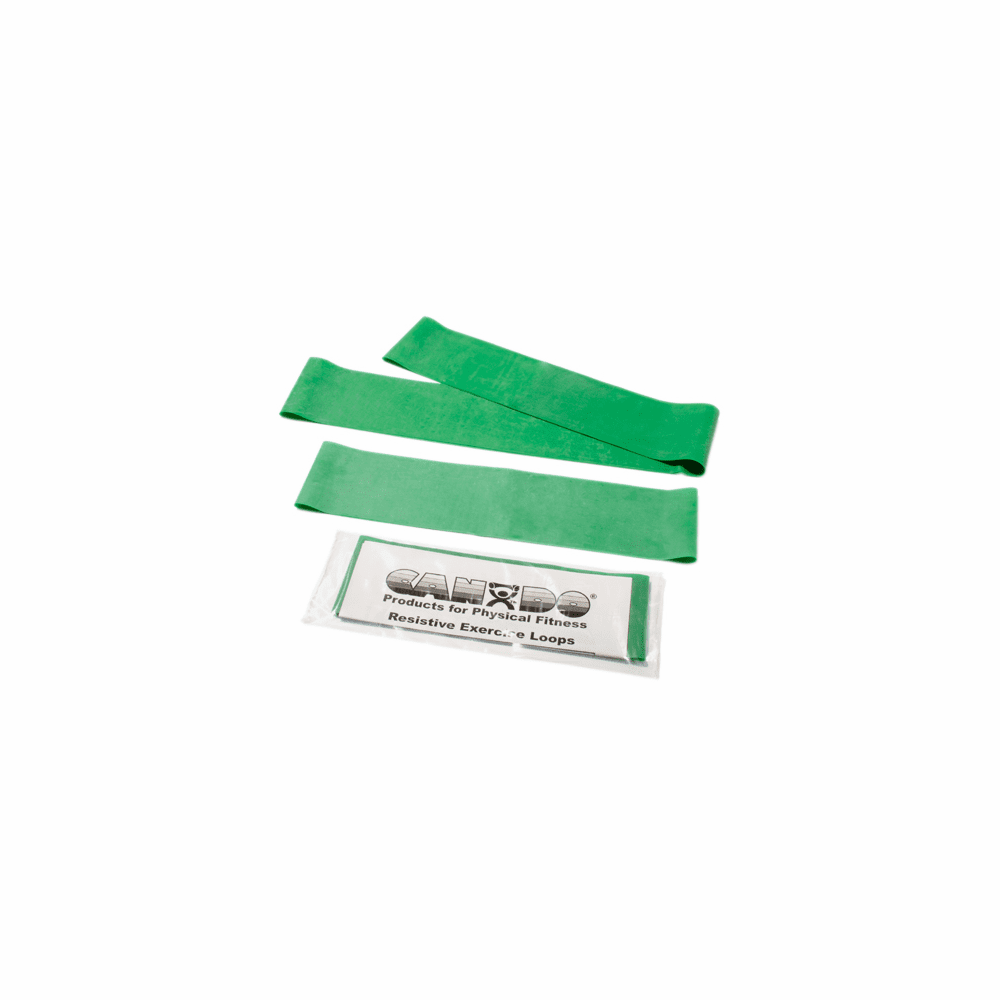 "CanDo® Exercise Band Loops - 10"" Long"