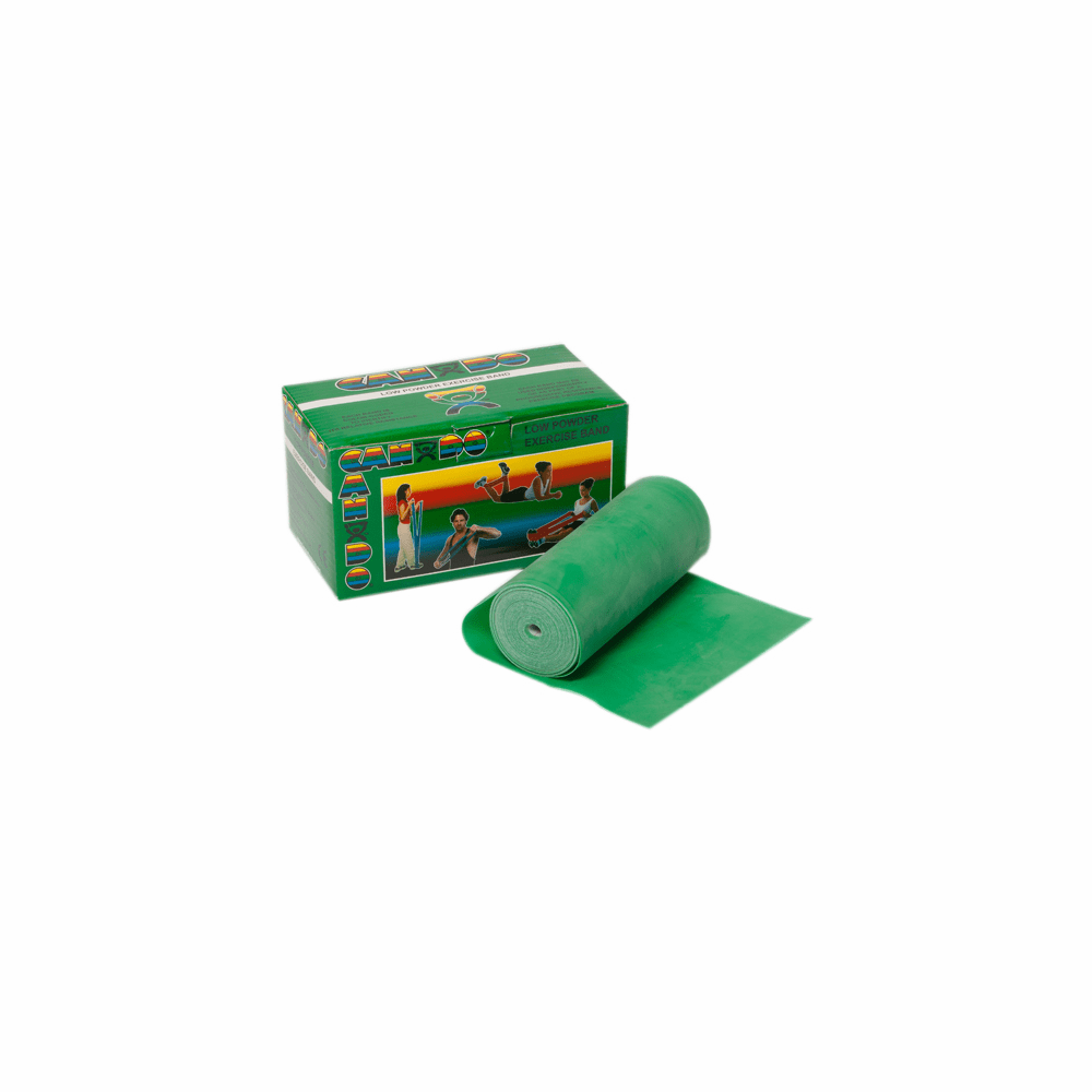 Cando Low Powder Exercise Band - 6 Yard
