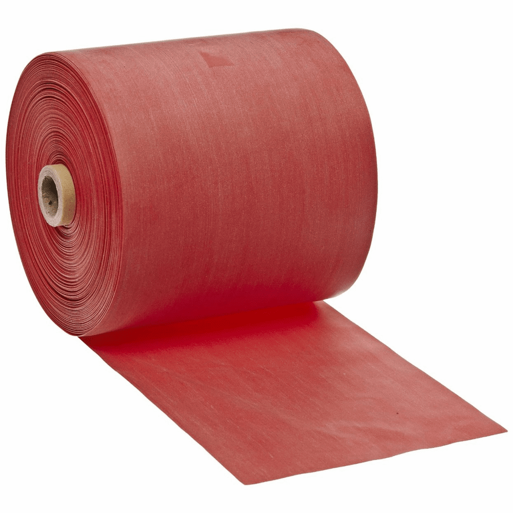Cando Low Powder Latex Exercise Band - 50 yd Length