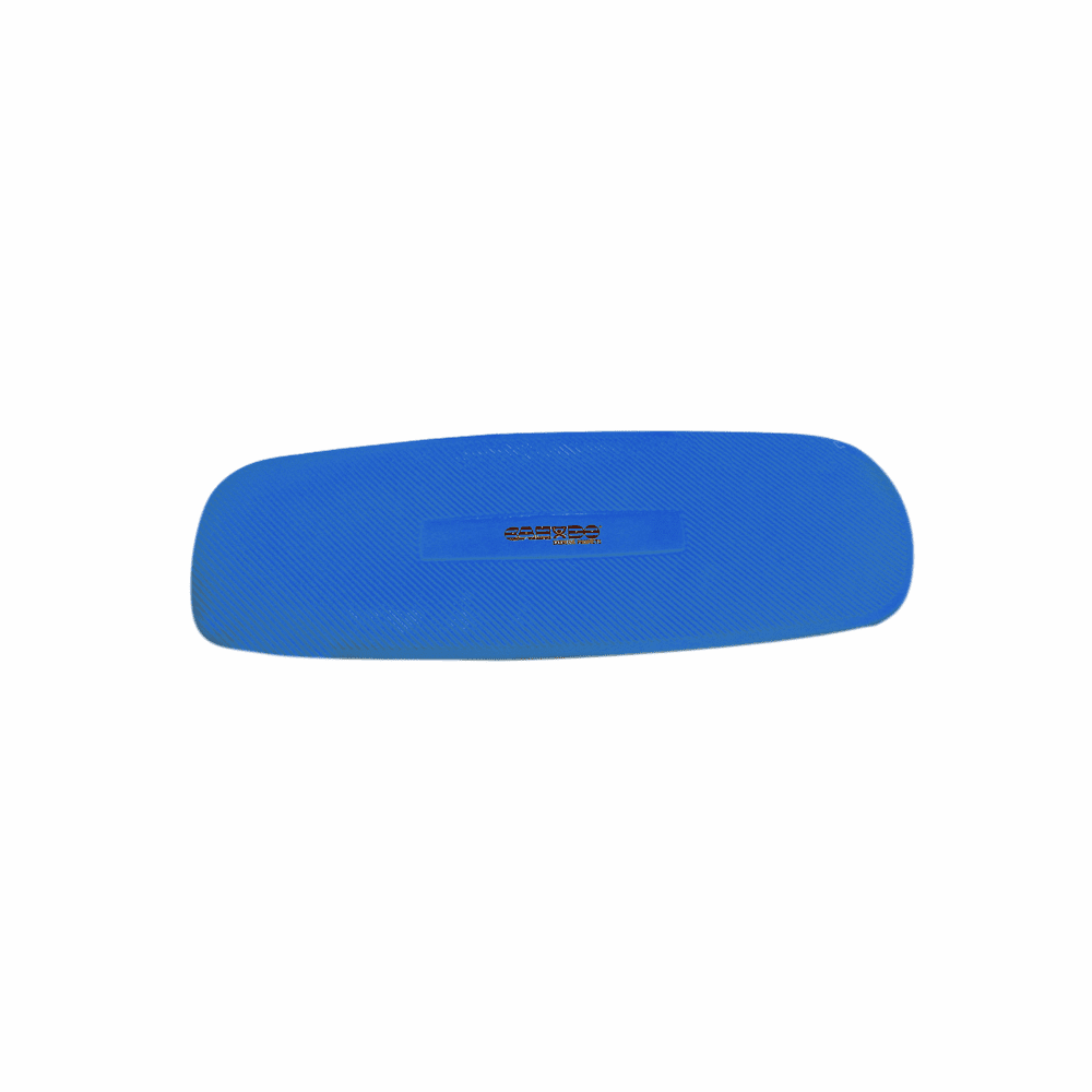 Cando Plush Exercise Mats - 24 x 72 x 0.6 inches - Closed Cell Foam