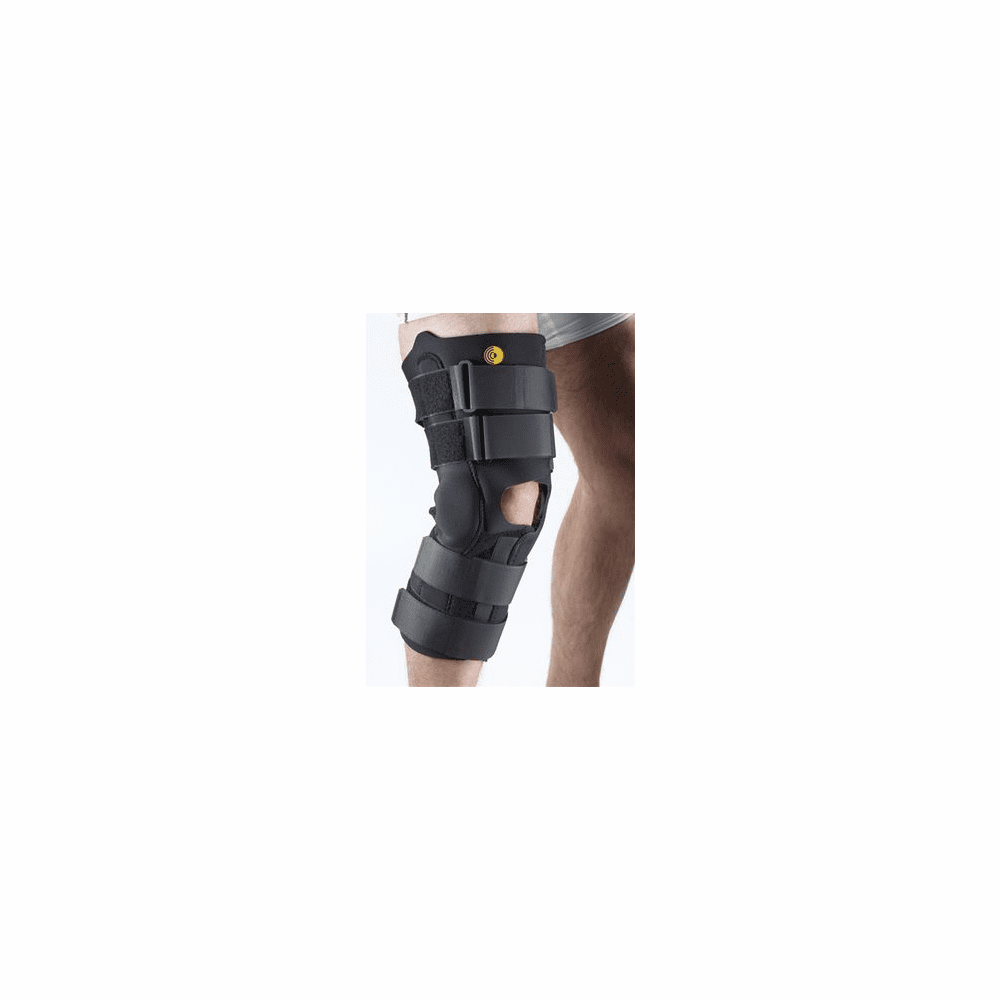 "Corflex 3/16"" Anterior Closure Knee Wrap w/ R.O.M. Hinge - 16"" No Op Pop"