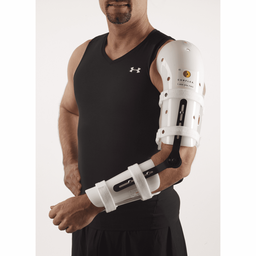 Corflex Elbow Orthosis with R.O.M. Hinge