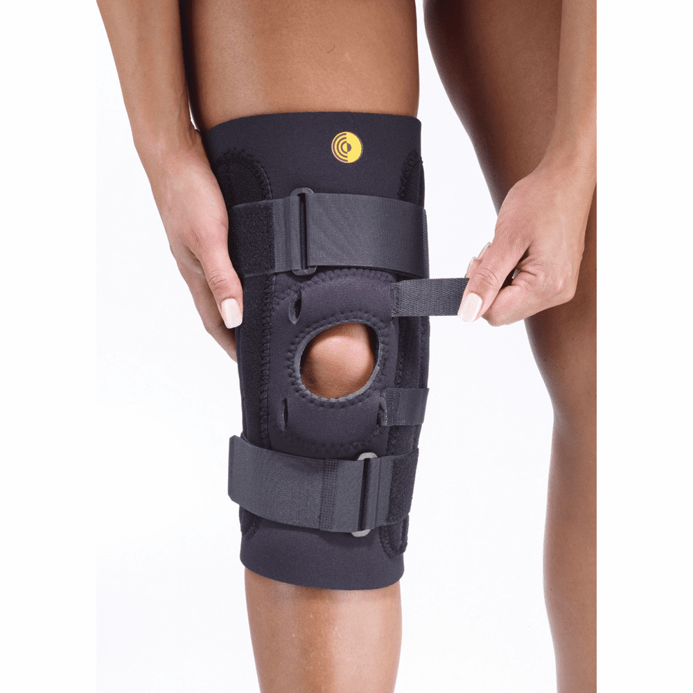 "Corflex Kinetic Posterior Adjustable Knee Sleeve w/Cor-Trak Buttress 13"" 3/16"""
