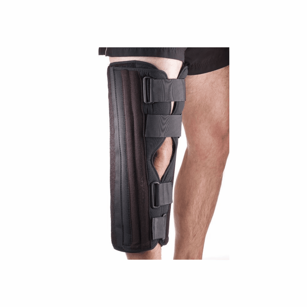 "Corflex Knee Immobilizer Tri-Panel Tricot - Fits up to 26"" circumference"