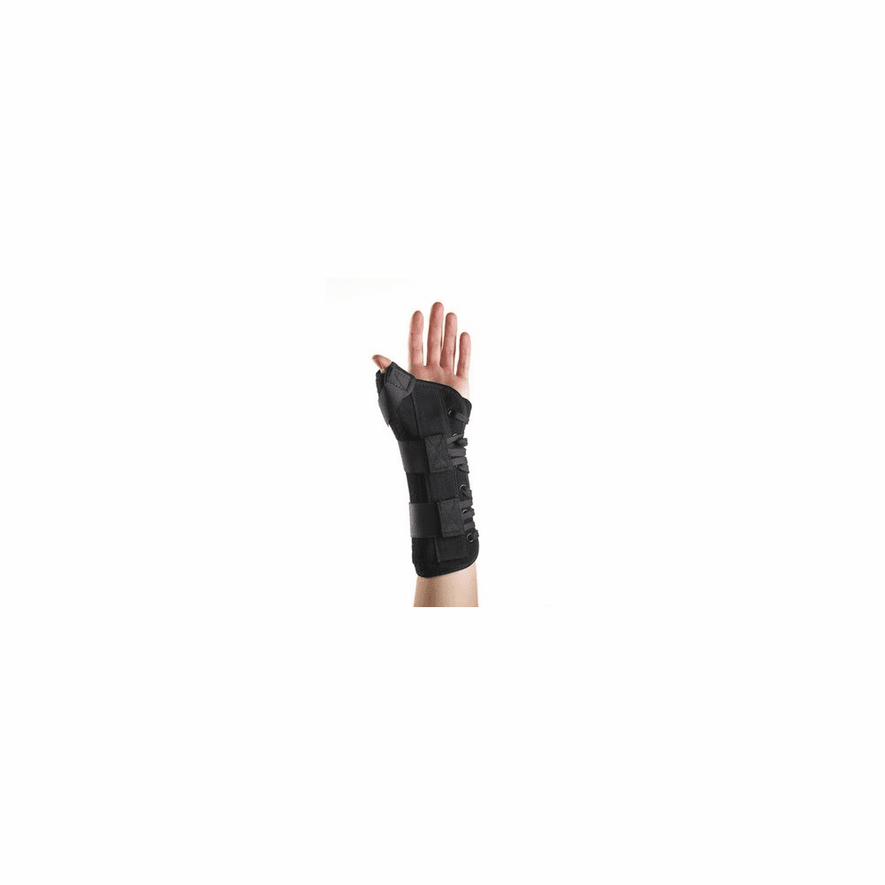 """Corflex Suede Wrist Lacer Splint w/Abducted Thumb 8"""""""