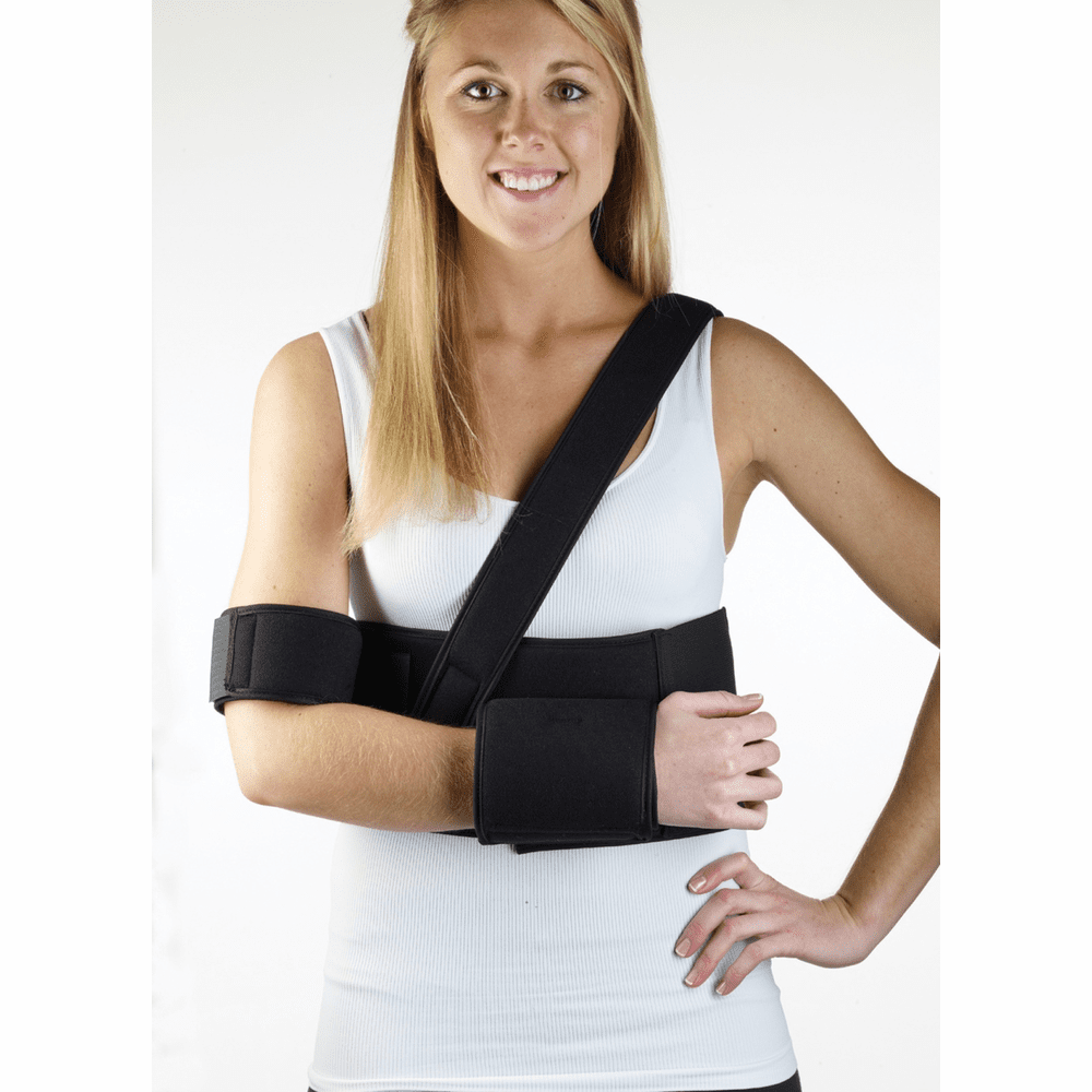 "Corflex Universal Comfort Shoulder Immobilizer - Fits: 22""- 45"" chest cir."