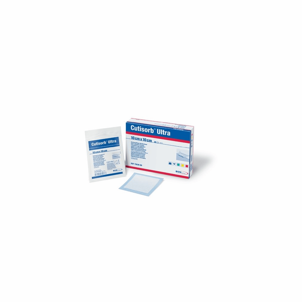 Cutisorb Ultra Super Absorbent Wound Dressing (Box of 20)
