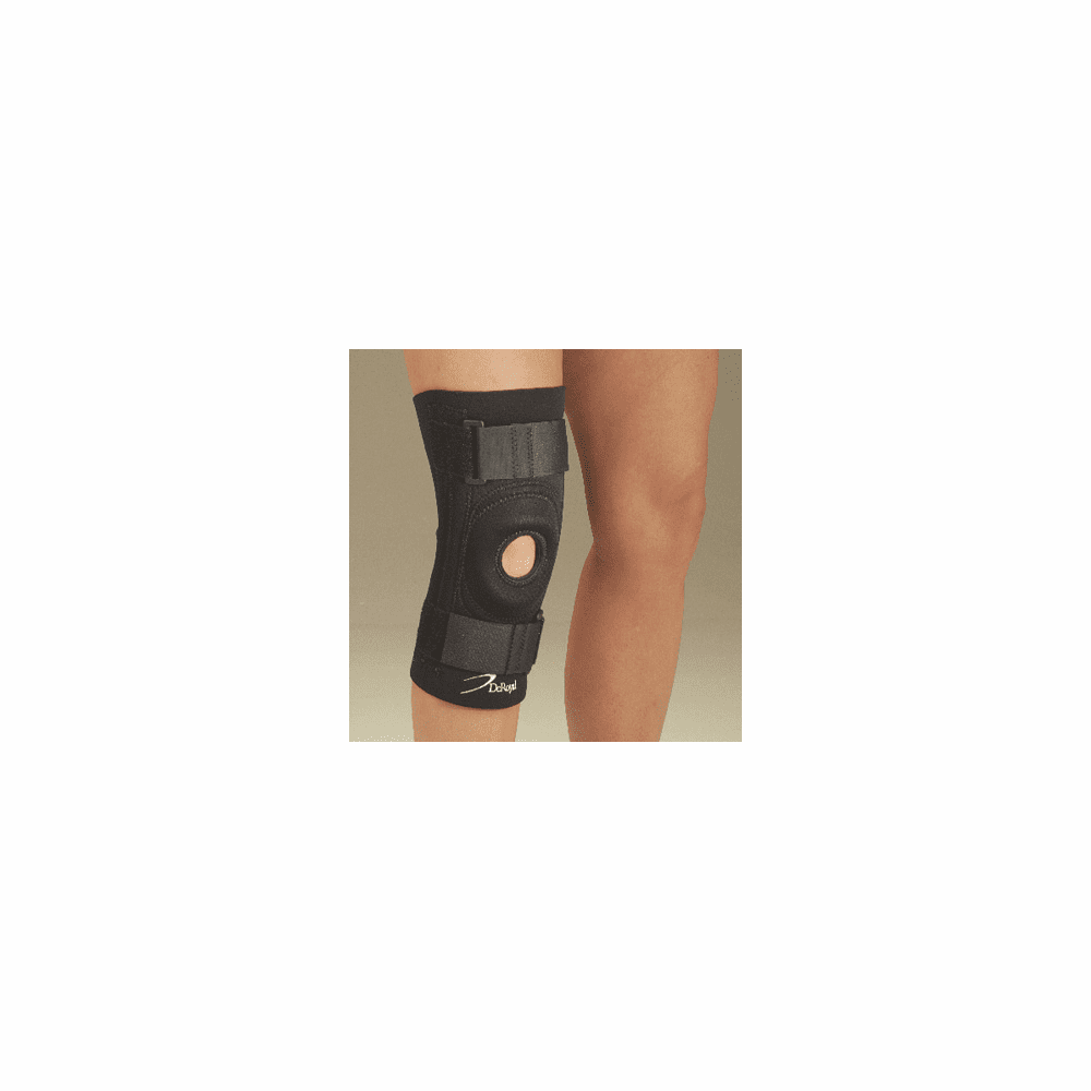 DeRoyal Deluxe Knee Support w/ Trimmable Buttress, Closed Popliteal