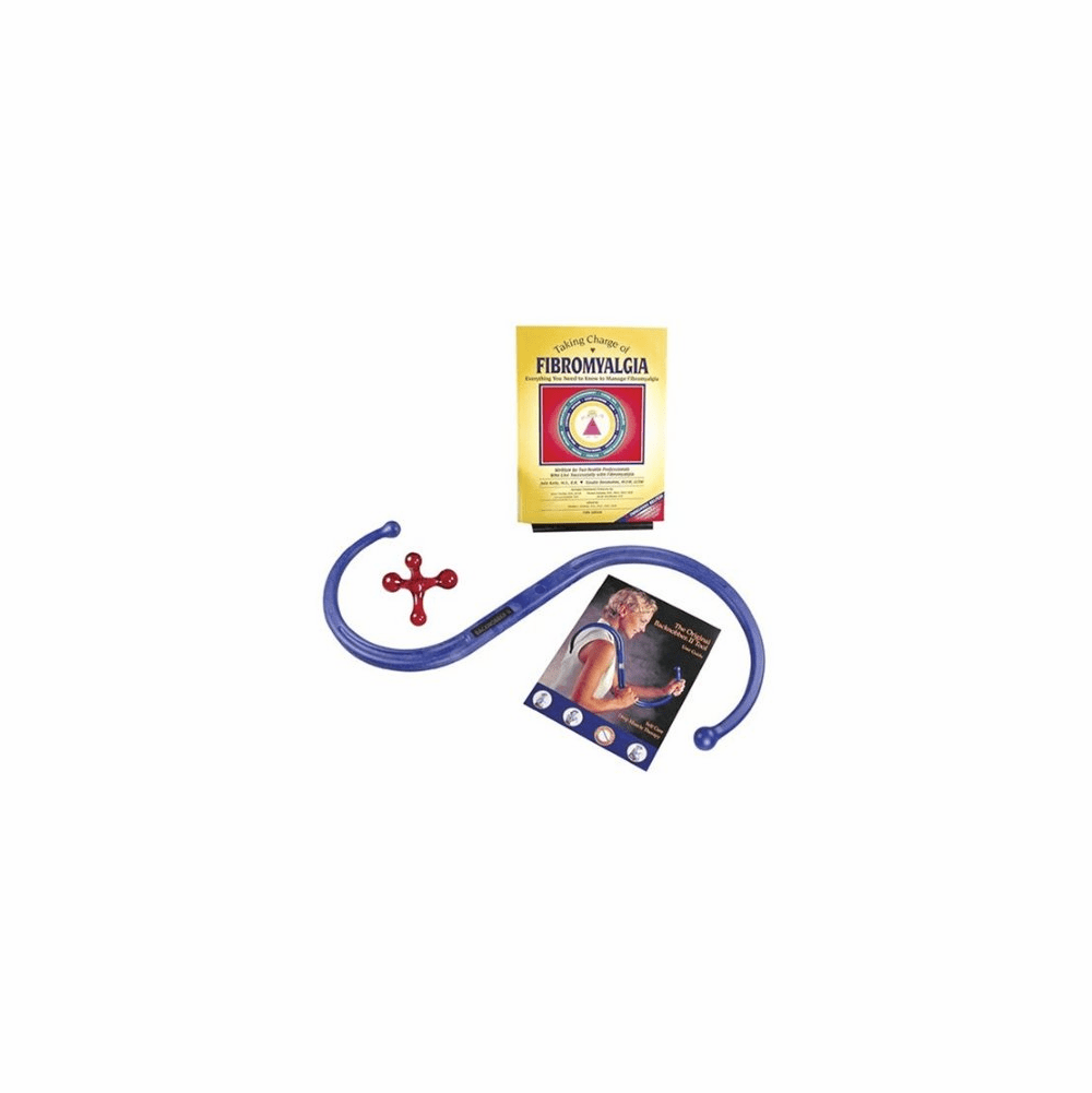 Fibromyalgia Trigger Point Therapy Tool Kit by the Pressure Positive Company