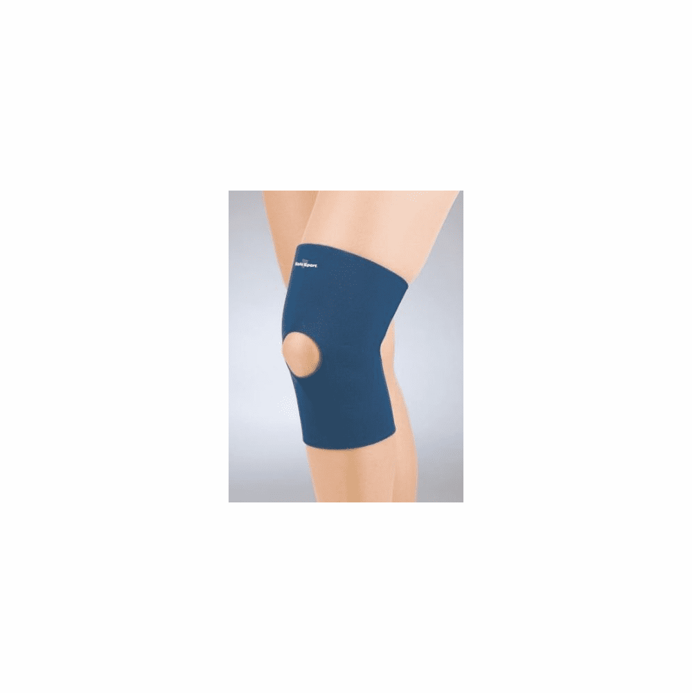 FLA Orthopedics Pediatric Safe-T-Sport Neoprene Knee Sleeve Open Patella