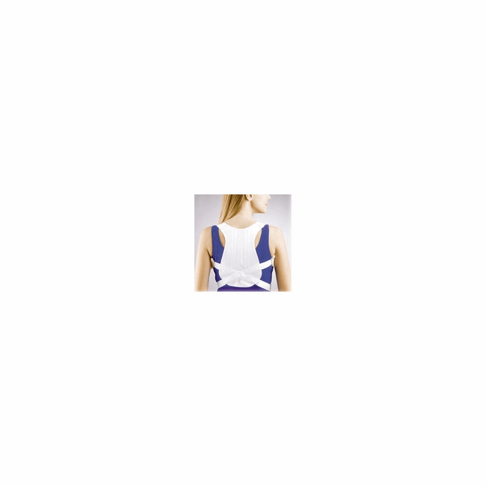 FLA Orthopedics Posture Control Shoulder Brace - White