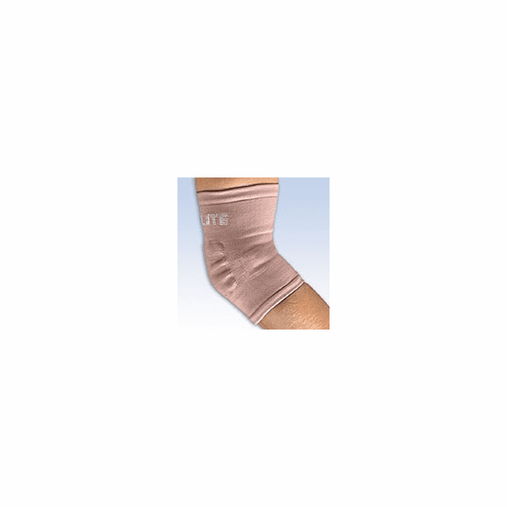 FLA Orthopedics ProLite Elbow Support Knitted Pullover - Latex Free - Beige