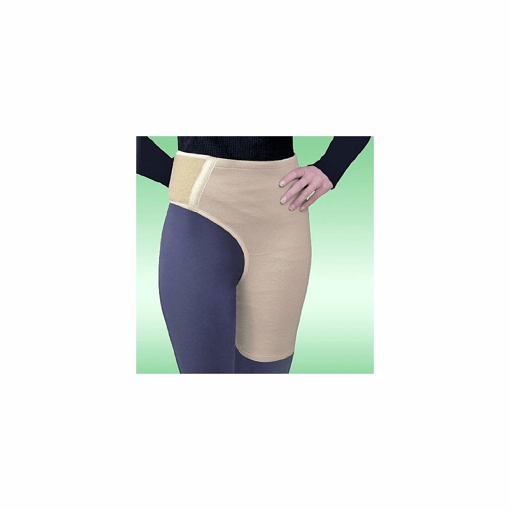 Flexible Support for Hip/Thigh/Pelvis to Stabilize and Protect