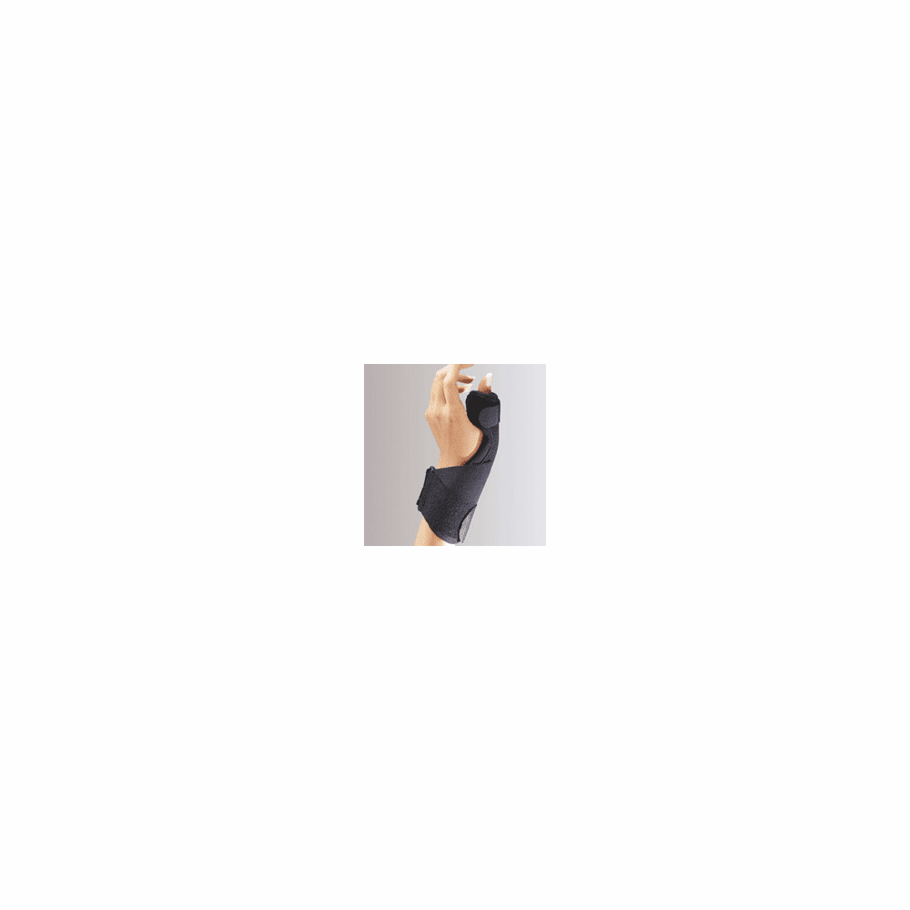 Florida Orthopedics C3 Deluxe Thumb Splint with Microban Right/Left, Universal, Black