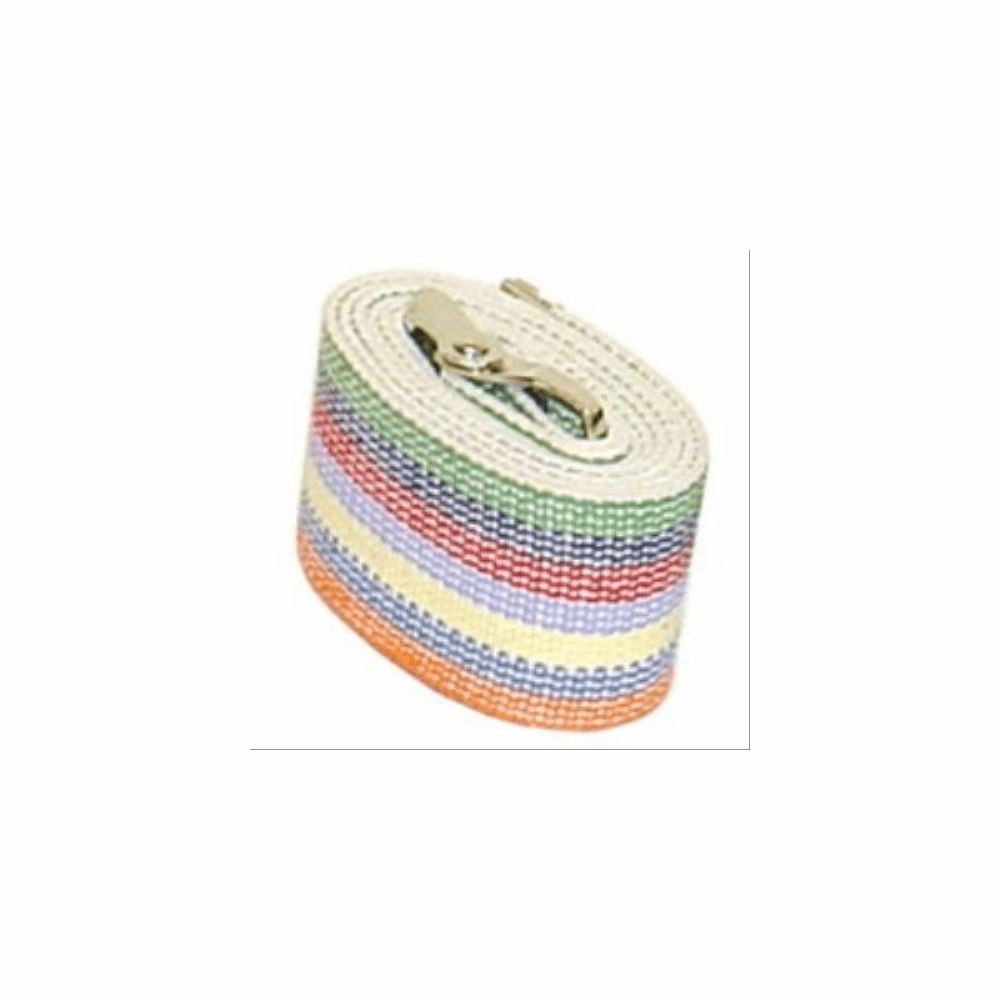 Gait Transfer Belt Cotton Waist #4 Rainbow by Kinsman, Enterprises, Inc, Each
