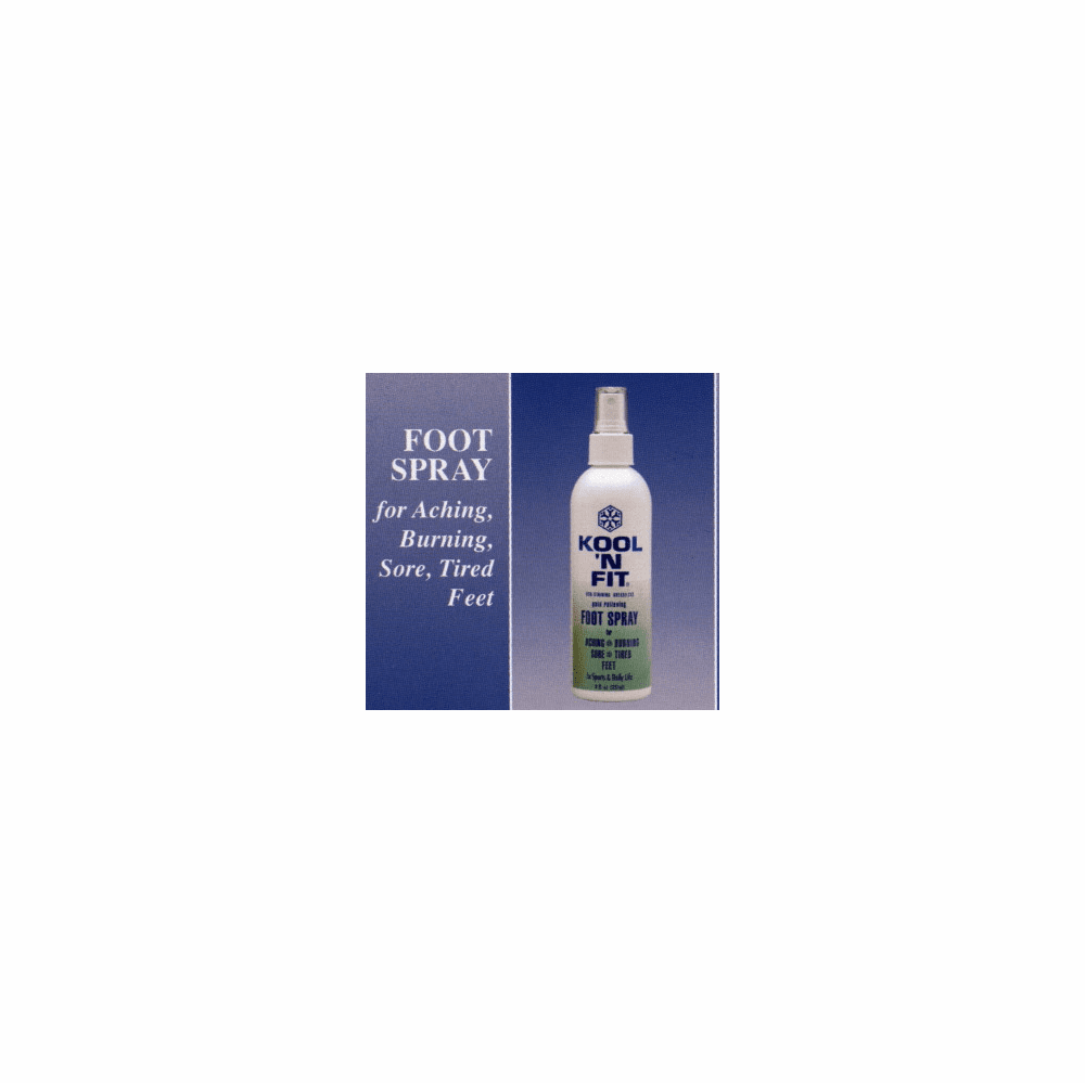 Kool N Fit Foot Spray 4 Oz.