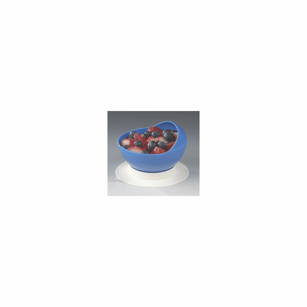 Maddak Ableware Scooper Bowl with Suction Cup Base