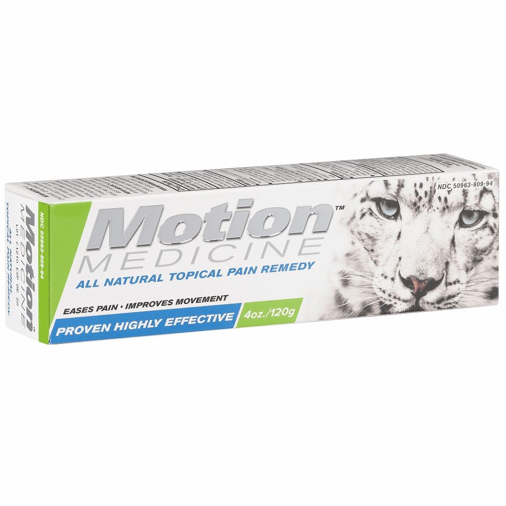Motion Medicine All Natural Topical Pain Remedy - 4 oz tube