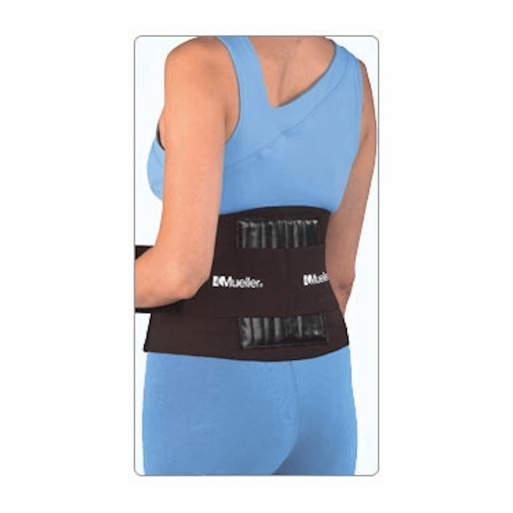 Mueller Sport Care Adjustable Back Brace One Size Black, Each # 6711