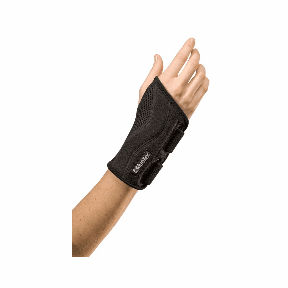 Mueller Sports Fitted Wrist Brace OSFM - Black