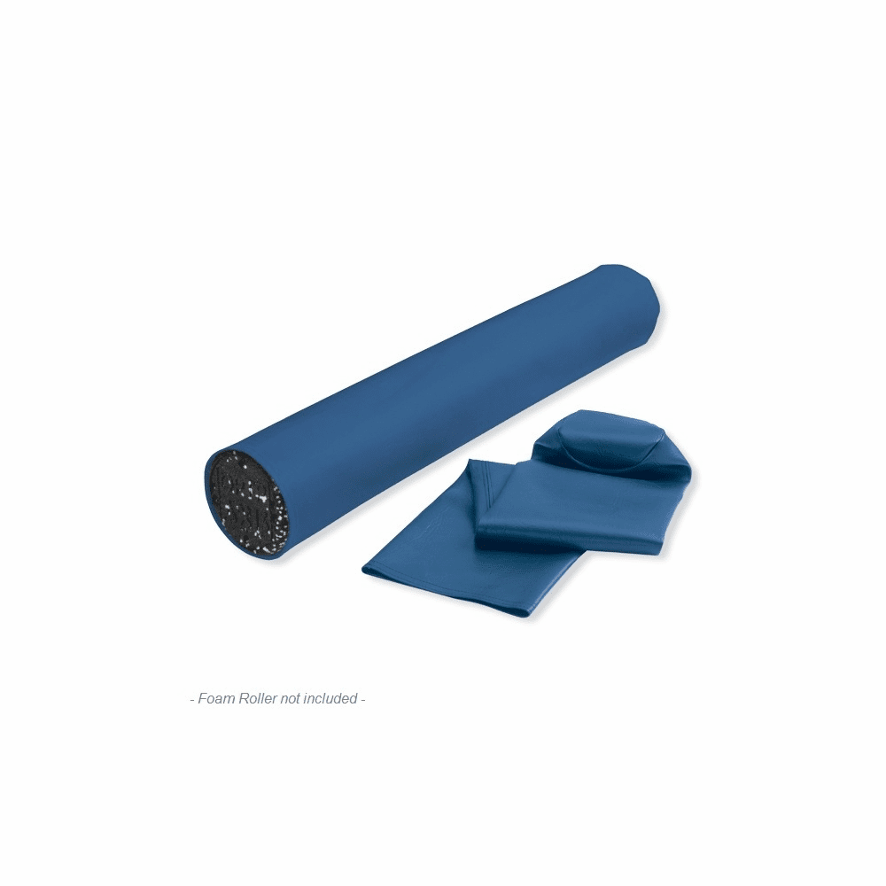 OPTP Foam Roller Cover - Blue Vinyl