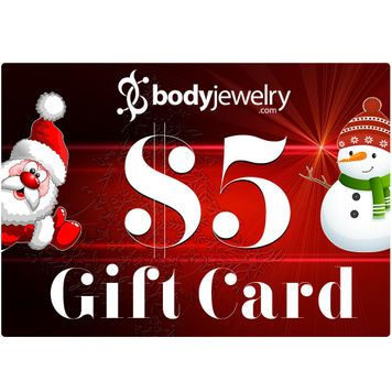 $5 GIFT CARD Valid for any in-store items