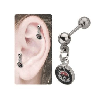 """Anarchy """"A"""" Cartilage Sons of Anarchy SAMCRO Earring"""