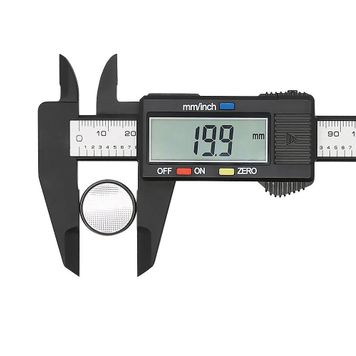 Digital Caliper with Large LCD Screen 0-6 In/0-150 mm