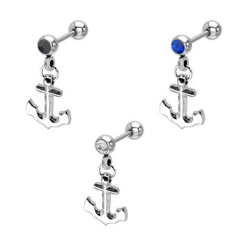 Dangle Anchor Cartilage Earring