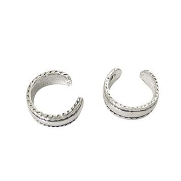 Ear Cuffs Sterling Silver Simple Design