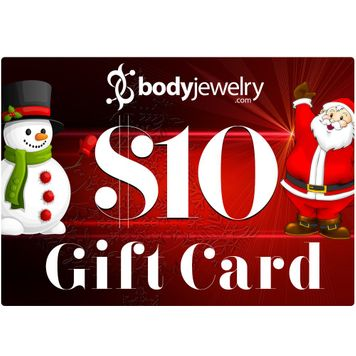 $10 GIFT CARD Valid for any in-store items