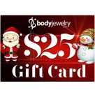 $25 GIFT CARD Valid for any in-store items