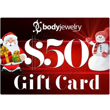 $50 GIFT CARD Valid for any in-store items