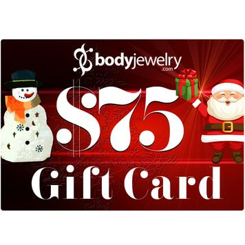 $75 GIFT CARD Valid for any in-store items