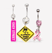 Logo Belly Rings