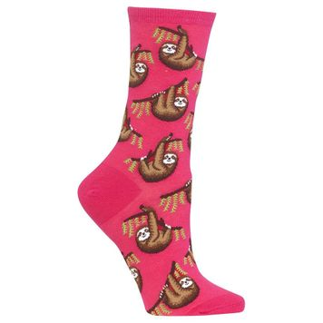 Pair of   Sloth Design Socks