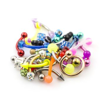 Pack of 24 Curved Barbells Randomly Picked 16g