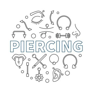 Liongothic 19pc Piercing Kit- Externally Threaded Jewelry 14g and 16g
