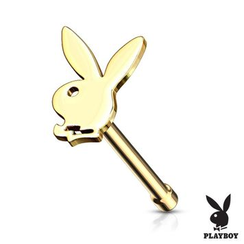 Playboy Bunny Top Surgical Steel Nose Bone Stud Ring 20ga- Sold Each