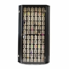 OUT OF STOCK -Rotating Body Jewelry Display Case with 216 Assorted 14ga Belly Button Rings